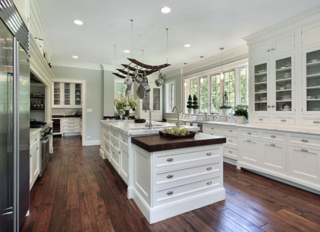 Beautiful kitchen with a country feel.