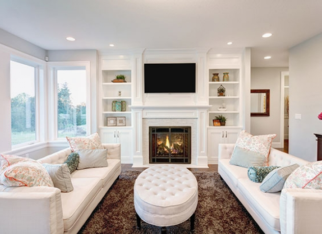 ideas including a white themed living room.