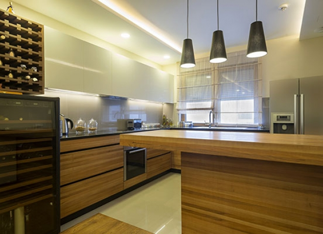 Condo kitchen design