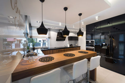 Essential mix of materials create this dream kitchen.