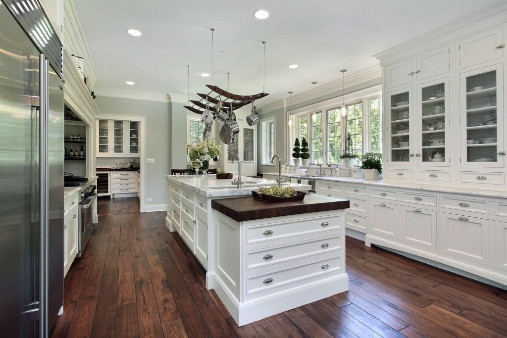 Interior Design Blog example of a Country white kitchen.